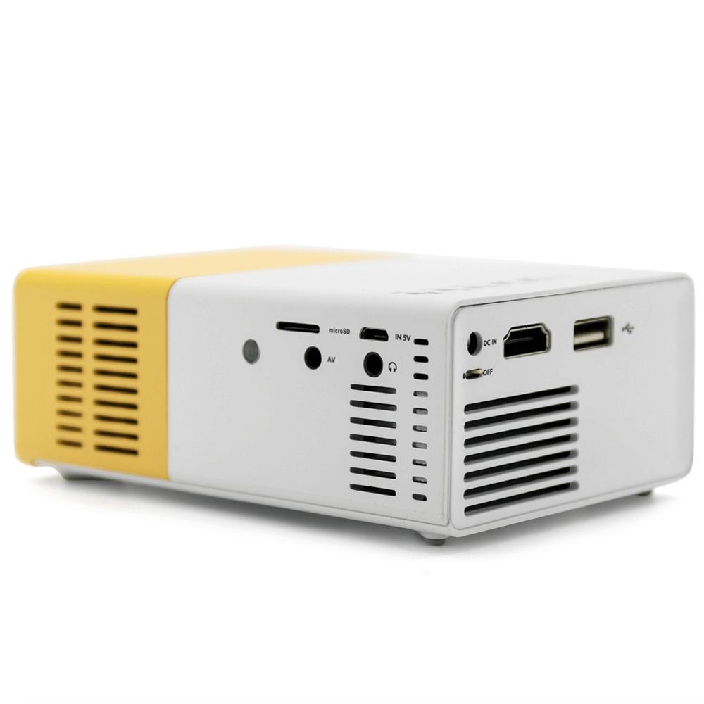 Мини проектор YG-300 - 4